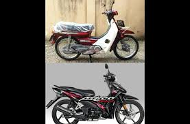 motor legend honda astrea grand