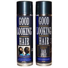 glh hair colored hair spray for