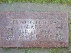 Gertrude Hansen Leishman Baer (1886-1919) - Find A Grave Memorial
