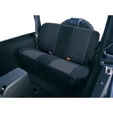 rugged ridge fabric rear seat covers