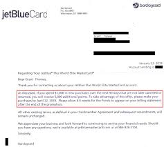 jetblue plus credit card retention call