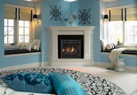 slimline gas fireplace traditional