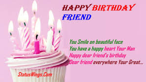 friend birthday status shayari in english archives com