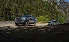 2020 Toyota Tacoma Trd Pro Has A Rugged Split Personality