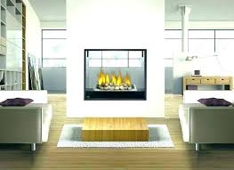 two sided gas log fireplace inserts