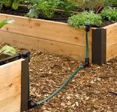raised bed drip irrigation system