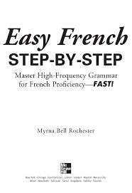 Easy French Step-By-Step Pages 1 - 50 - Flip PDF Download | FlipHTML5