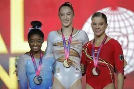 biles sets record by picking up 13th