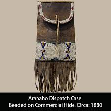 native american beadwork fighting