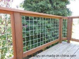 China Stainless Steel Balcony Tension Wire Railing Or Cable Wire Fence China Building Material Net Rail