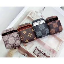 airpods protective case pu leather bag
