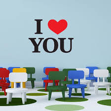 I Love You Wall Decal Style And Apply