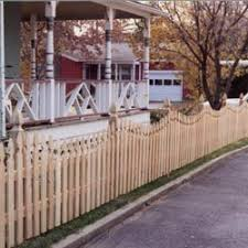 Spaced Picket 2 1 2 In Concave French Gothic Academy Fence Company Nj Pa Ny