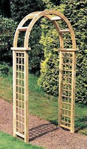 elite granville wooden garden arch