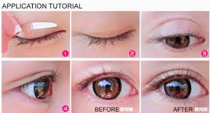 gambar tutorial make up mata sipit