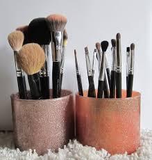 diy makeup brush holder nicolette