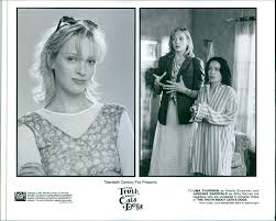 "Amazon.com: Vintage photo of Two scenes from the film""The Truth About Cats  & Dogs"", with Uma Thurman as Noelle Slusarsky and Janeane Garofalo as Abby  Barnes, 1996.: Entertainment Collectibles"