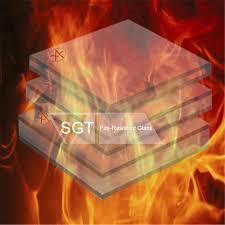 borosilicate glass fire resistant glass