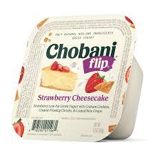 chobani flip strawberry cheesecake low