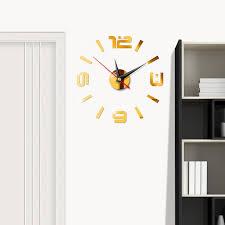 wall clock home diy3d stereo decorative