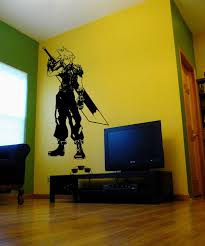 Pin By Damien Swords On Odds Ends Final Fantasy Cloud Final Fantasy Wall Decals