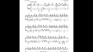 When I Was Your Man - Bruno Mars (Piano Accompaniment) - YouTube