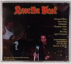 ROSETTA WEST: Self Titled '96 Monsterdisc Stoner Psych Acid Rock CD  Private! | eBay