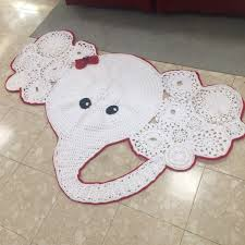 Tangees Closet Other Handmade Crochet Elephant Rug Poshmark