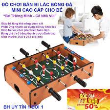 Game cho bé trai và bé gái - CHỌN NGAY BÀN BI LẮC BÓNG ĐÁ Mini Cao cấp bằng  gỗ, Thiết kế thông minh làm quà tặng cho bé