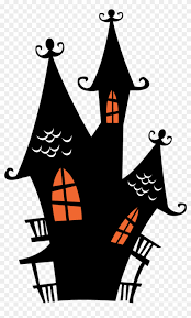 Halloween Spooky House Clip Art Haunted House Cliparts Free Transparent Png Clipart Images Download