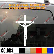 Jesus Cross Car Decal Sticker Truck Vinyl God Christ Bible Die Cut No Background Pick Color And Size Car Decal Sticker Decal Stickercar Decal Aliexpress