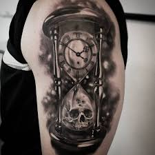 hourglass tattoo designeanings