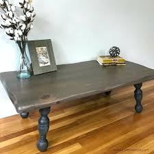 how to restain coffee table