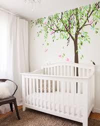 Large Baby Nursery Willow Tree Vinyl Wall Decal Nt017 Etsy Baby Room Decals Baby Nursery Decals Nursery Wall Decals