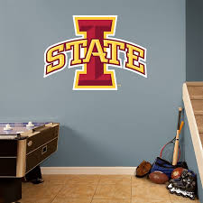 Home Furniture Diy Wall Decals Stickers Iowa State Cyclones Ncaa Football Sports Wall Decal Vinyl Sticker For Room Home Mtmstudioclub Com