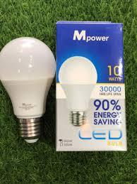 Bóng đèn LED tròn 10W - Thiết Bị & Công Cụ