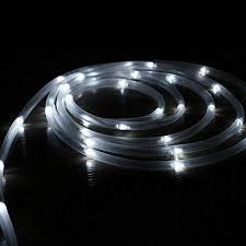 string lights outdoor solar rope lights