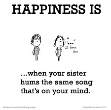 happiness is sister quotes