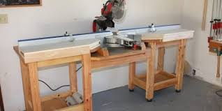16 Diy Miter Saw Stands For Diy Woodworkers The Self Sufficient Living