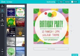 Crea Invitaciones De Cumpleanos Online Gratis Con Canva