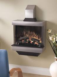 wall mounted fireplace symphony