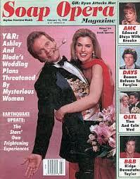 2-15-94 Soap Opera Magazine MICHAEL TYLO-YVONNE PERRY | Soap Opera World