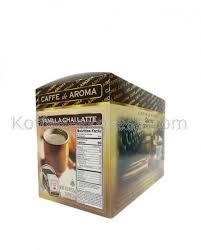 vanilla chai latte individual