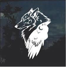 Odin Thor Raven Wolf Decal Sticker Custom Sticker Shop