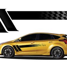 Champion Automotive Vinyl Graphics Universal Fit Decal Stripes Kit Pictured With Hyundai And Toyota Vinylgraphicspro Vinyl Graphics Stripes Decal Kits