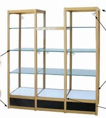 supply high and low display cabinets