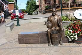 Memorials in Ottawa: Dr. James Naismith Statue