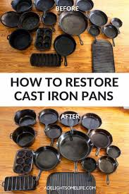 Pin by Adela Clark on Cast iron pans cooking- cleaning! in 2020 ...
