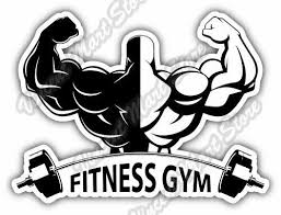 Fitness Gym Exercise Workout Car Bumper Window Vinyl Sticker Decal 5 X4 For Sale Online Ebay