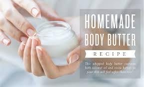 homemade body er recipe